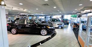 Google business photos of a new york automobile dealer for Honda dealership nyc