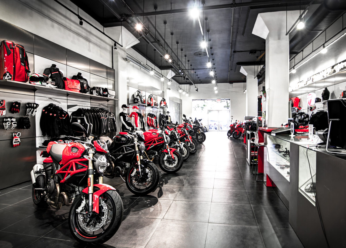 new york google business view ducati triumph soho. Black Bedroom Furniture Sets. Home Design Ideas