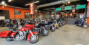Google Virtual Tour - Harley-Davidson NY