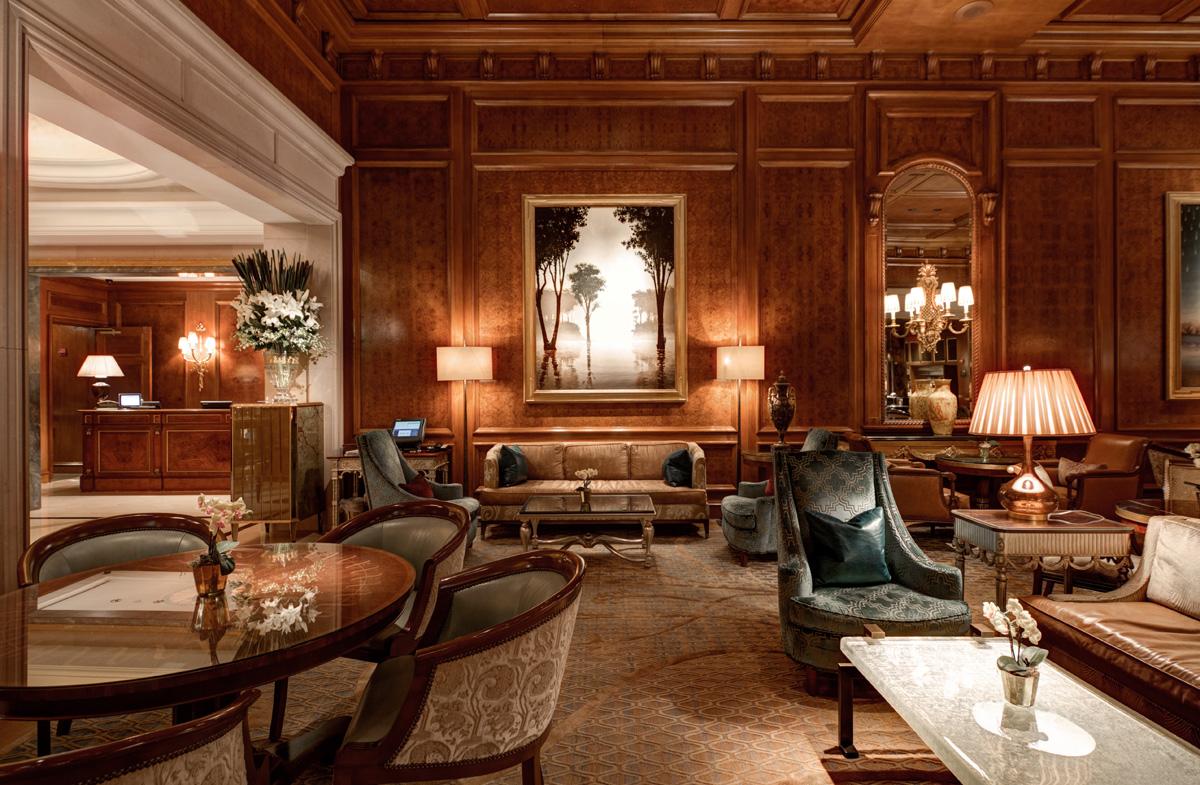 New York Ritz Carlton Restaurant