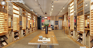 virtual tour for warby parker eyewear in nyc meatpacking district