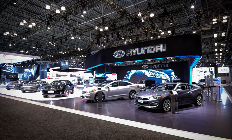 New York International Auto Show Google Virtual Tour - New york auto show